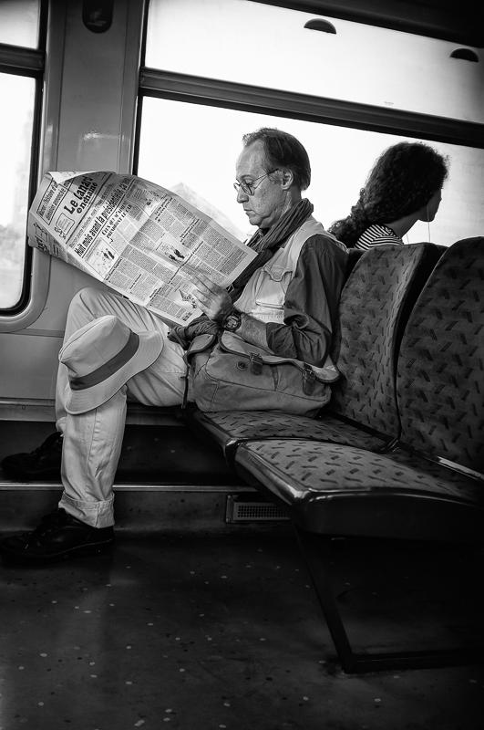 RER en route pour Paris