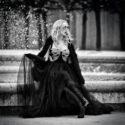 Une fée, jardin du palais royal