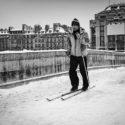 Le skieur du Pont Neuf