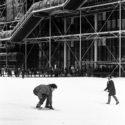 Snowboard à Beaubourg