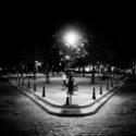 Place Dauphine la nuit