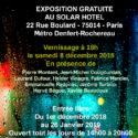 REGARDS PARISIENS expose au SOLAR HOTEL du 1er Décembre 2018 au 26 Janvier 2019