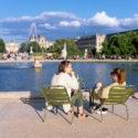 Fin de journée aux Tuileries