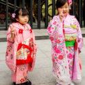 Jeunes filles en kimonos / Kyoto / Japon / Octobre 2019