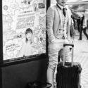 Un dandy dans le métro / Tokyo / Japon