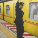 Le chef de station / Métro / Tokyo / Japon