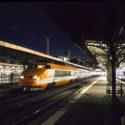 Dernier départ d'un TGV Sud-Est