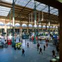 La gare du nord, pas exactement déserte mais tout de même très vide…