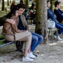 Les amoureux du Jardin du Luxembourg
