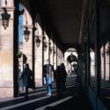 Alternance d'ombre et de lumière